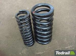 Coil Spring on Railway Bogie pictures & photos