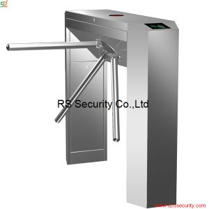 Fingerprint Auto Bi-Direction Waist Height Turnstile Pedestrian