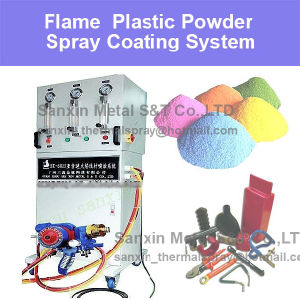 Thermal Plastic Spraying Coating Machine Equipment Advanced Design for Plastic (Polythene / Nylon etc.) Acid-Proof Alkali Proof Surface Coating Treatment pictures & photos