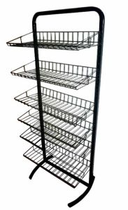 Store or Supermarket Wire Display Rack pictures & photos