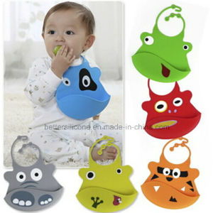 Wholesale Funny Design Silicon Rubber Baby Bibs pictures & photos