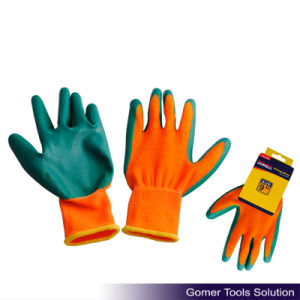 Green Nitrile Coated Work Glove