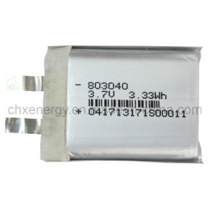 Rechargeable Battery Cell Li Ion for Digital Products 3.7V (CHX037)