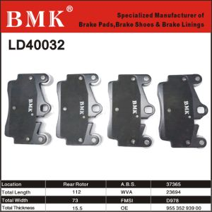 Premium Quality Rear Brake Pads for Top Vehicle pictures & photos