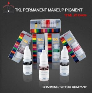 Permanent Makeup Pigment Tattoo Eyebrow Ink (TKL) (1/2 OZ)