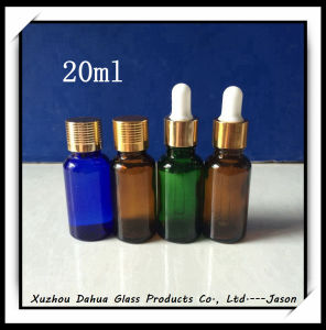 20ml Color Glass Essential Oil Bottle pictures & photos