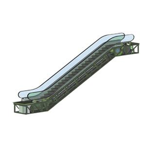Brown High Quality Escalator
