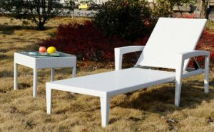 High Quality Rattan Lounger / Outdoor Furniture