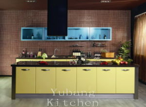 Kitchen Cabinet with PVC Door (YB-109) pictures & photos