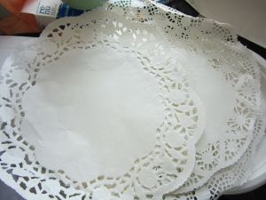 Table Paper, bowl Paper for Party, Dinner Table Use pictures & photos