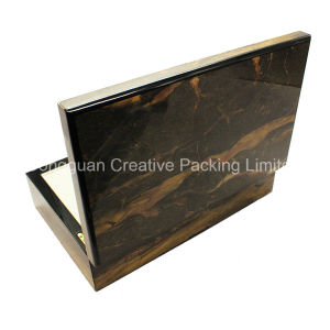 Wood Boxes for Two Watch Packaging Luxury Wooden Watch Box pictures & photos
