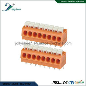 PCB Spring Terminal Block Connector 12A with Orange Housing pictures & photos