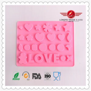 BPA Free Silicone Molds with English Letter pictures & photos