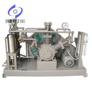 Brotie Oil-Free Hydrogen H2 Gas Booster Compressor Pump Set pictures & photos