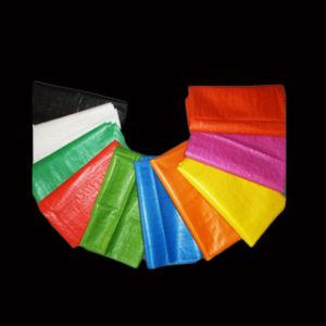 Cheap Colored PP Woven Bag pictures & photos