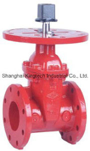 UL/FM Approval Gate Valve with Post Flange pictures & photos