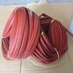 2751 Silicone Rubber Fiberglass Sleeving Insulation Sleeving pictures & photos