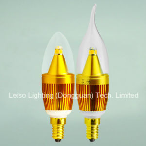 Hot Sale Scob CREE Chips 330degree LED Candle Lamp/Bulb (J) pictures & photos
