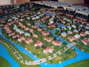 Residential Scale Model Model (JW-120) pictures & photos