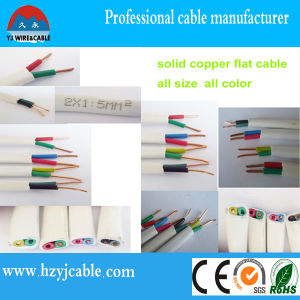 Flat and Twin Solid Sheath Cable Copper Wire pictures & photos
