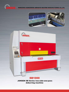 Edge Rounding Machines Automatic Two Sides Deburring Machine pictures & photos