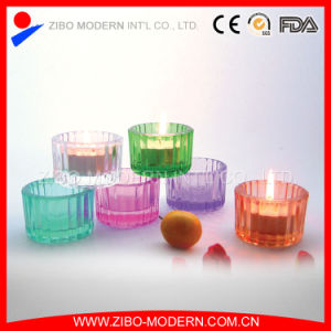 High Quality Clear Decorative Glass Candle pictures & photos