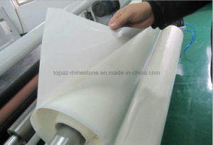 Pes Hot Melt Adhesive Film with Release Paper for Textile Fabric (HF-PES) pictures & photos