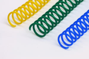 Nylon Coated Plastic Spiral Wire (NPCC-63114) pictures & photos