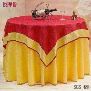 "132"" Round Tablecloth for Restaurant Use pictures & photos"