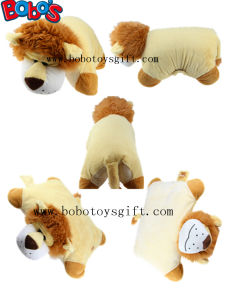 Pillow Decorative Pillows in Plush Stuffed Lion Toy Shape pictures & photos