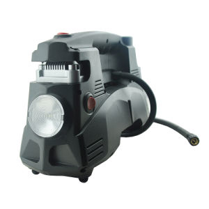 Double Cylinder Air Compressor for Car (12V/24V/110V/220V-6022)