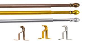 Factory Direct Aluminium Curtain Rod (R002) pictures & photos