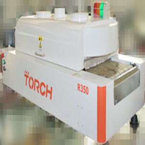 R350 New Upgrade Type with Inline Testing Temperature Function Lead Free Desk Reflow Oven pictures & photos