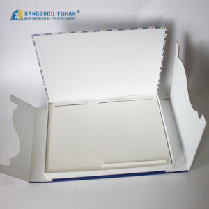 Square Paper Box with Special Shape Front Cover pictures & photos