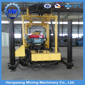 Two Wheels Trailer Type Water Well Drilling Rig Machinery pictures & photos