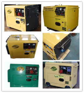 Kde 2-10kVA Silent Enclosed Diesel Generator pictures & photos