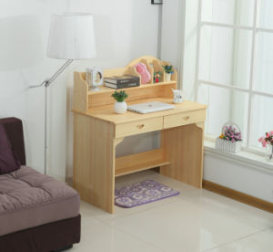 Children Study Table with Bookcase (M-X1068) pictures & photos