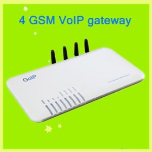 VoIP Terminal Gateway/4 Channle GSM VoIP Gateway with SIP & H323 Protocol