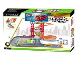 Toy Vehicle Car Toy Friction Car with Parking Lot with En71/Hr4040/ASTM Test pictures & photos