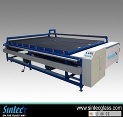Semi-Automatic Glass Cutting Table/Glass Cutting Table pictures & photos