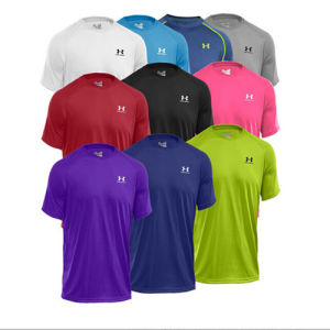Mens Dry Fit Mesh Sport T-Shirt pictures & photos
