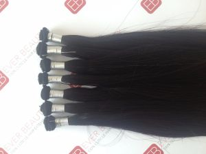 Hand Tied Wefts with Brazilian Virgin Hair Unprocessed European pictures & photos