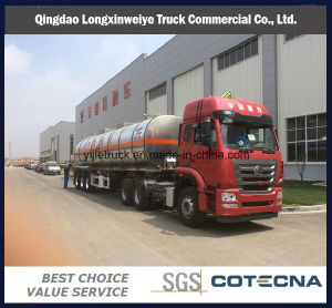 50cbm High Quality Aluminum Fule Tank Semi Trailer pictures & photos