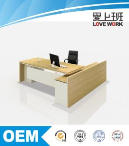 Hot Sale L Shape Modern Office Table (FE-B24) pictures & photos