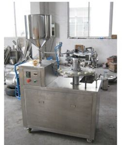 Semi Auto Metallic/Aluminum Tube Filling and Sealing Machine pictures & photos