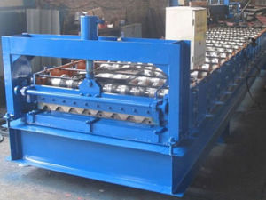 Metal Roofing Steel Tile Forming Machine