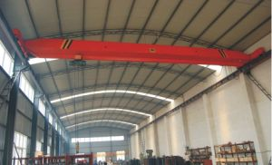 Single Girder Running Bridge Hoist Crane pictures & photos