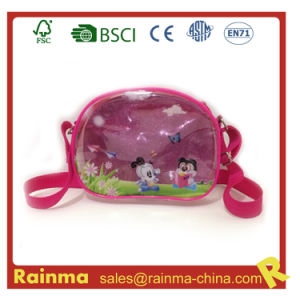 Transparent PVC Shoulder Bag for Girl pictures & photos