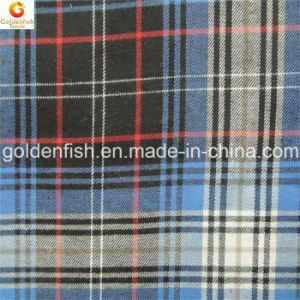100% Cotton Flannel Fabric Checked for Casual Shirt