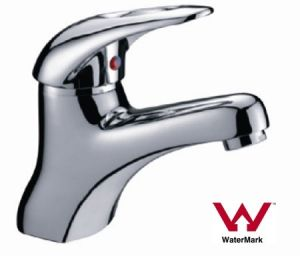 Watermark Sanitary Ware Supplier Brass Single Lever Basin Tap (HD6054) pictures & photos